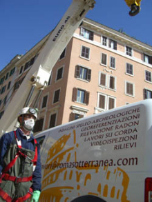 Furgone Roma Sotterranea
