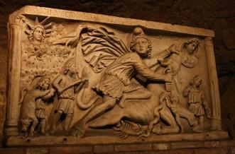Mitreo Circo Massimo - Altare tauroctonia