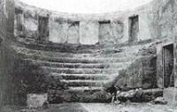 L'Auditorium di Mecenate come appariva al momento della scoperta