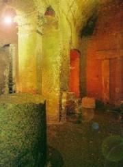 Un ambiente prospiciente l'antico Mitreo romano