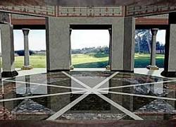 L'Aula Ottagona, in una ricostruzione 3D