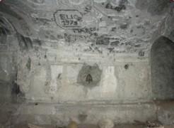 Una parte degli stucchi superstiti