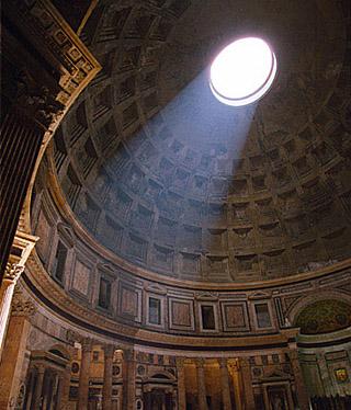 Nel Pantheon piove?