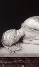 La statua di S.Cecilia